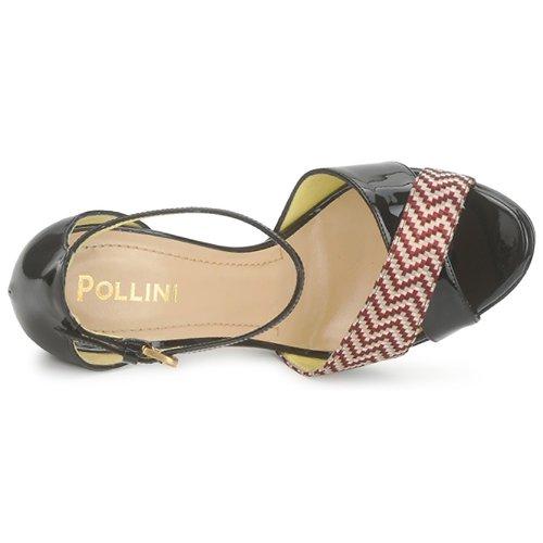 Et Femme Cuoio Pollini Pa1638cc1v Nu rosso Sandales pieds J3TlK1uFc