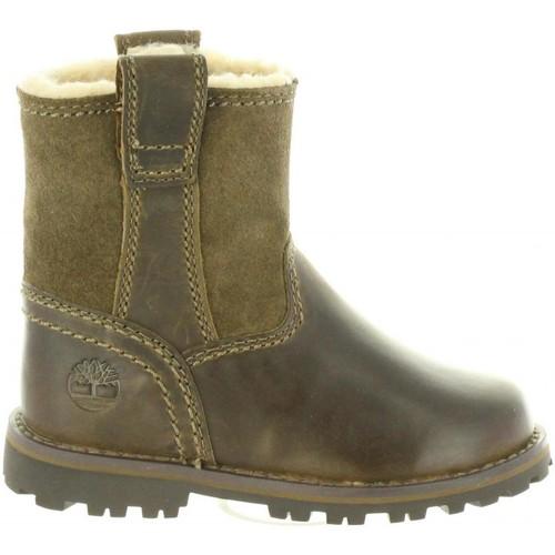 Chaussures Enfant Bottes ville Timberland A1BSC CHESTNUT Marr?n