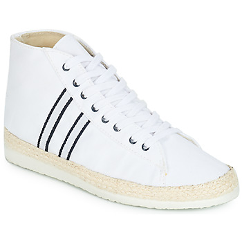 Chaussures Femme Baskets montantes Ippon Vintage BAD HYLTON Blanc