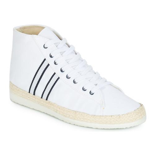 Femme Ippon Hylton Montantes Bad Vintage Chaussures Baskets Blanc KT1JFcl