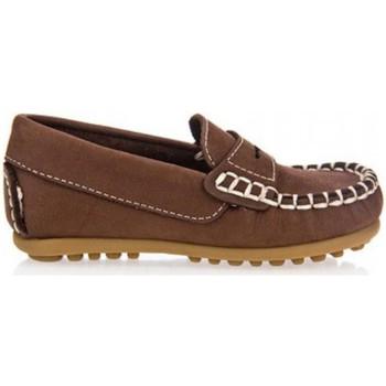 Chaussures Garçon Mocassins Garatti PR0055 Marr?n