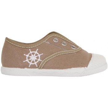 Chaussures Enfant Baskets basses Cotton Club CC0001 Beige