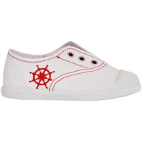 Chaussures Enfant Baskets basses Cotton Club CC0001 Blanco