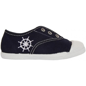 Chaussures Enfant Baskets basses Cotton Club CC0001 Azul