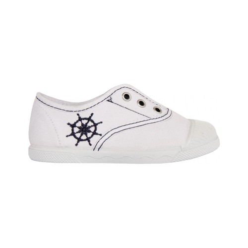 Chaussures Enfant Baskets basses Cotton Club CC0002 Blanco
