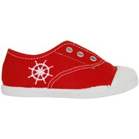 Chaussures Enfant Baskets basses Cotton Club CC0002 Rojo