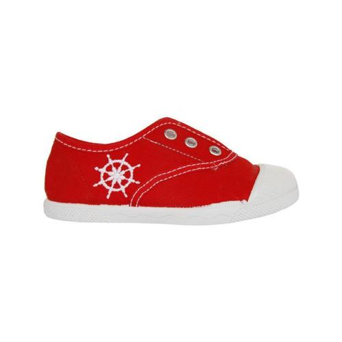Chaussures Enfant Baskets basses Cotton Club CC0002 Rojo