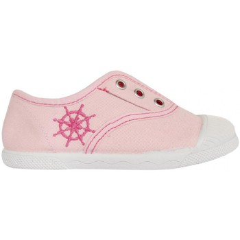 Chaussures Enfant Baskets basses Cotton Club CC0002 Rosa