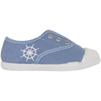 Chaussures Enfant Baskets basses Cotton Club CC0002 Azul