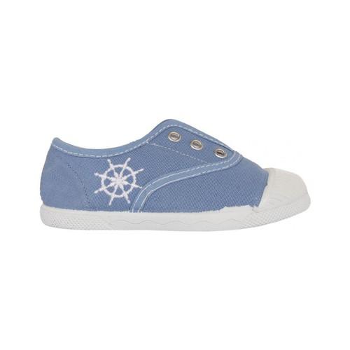 Chaussures Enfant Baskets basses Cotton Club CC0002 Azul