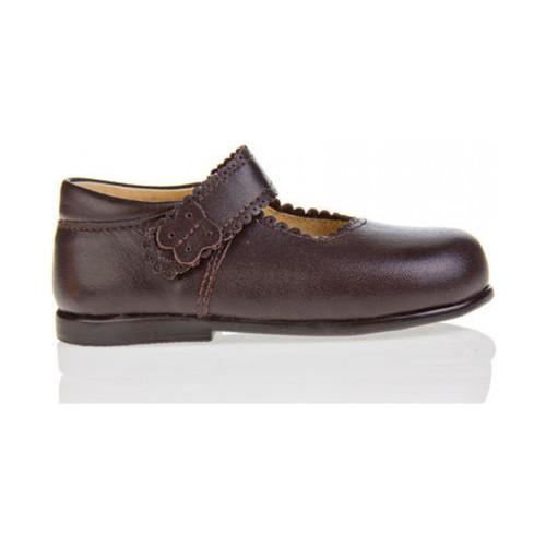 Chaussures Fille Ballerines / babies Garatti PR0043 Marr?n