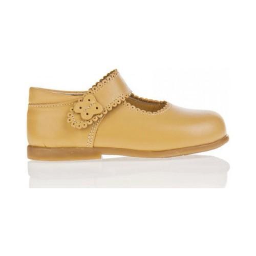 Chaussures Fille Ballerines / babies Garatti PR0043 Beige