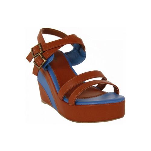 Chaussures Femme Sandales et Nu-pieds Top Way B040860-B7200 Marrón