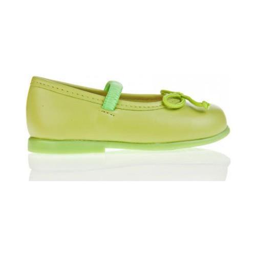 Chaussures Fille Ballerines / babies Garatti PR0048 Verde