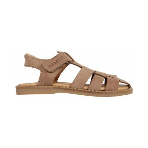 Chaussures Garçon Sandales et Nu-pieds Garatti PR0056 Beige