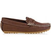 Chaussures Garçon Mocassins Garatti AN0074 Marrón