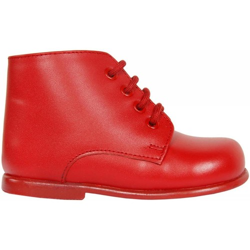 Chaussures Enfant Boots Garatti PR0052 RED 22 Rojo
