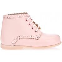 Chaussures Fille Boots Garatti PR0053 Rosa