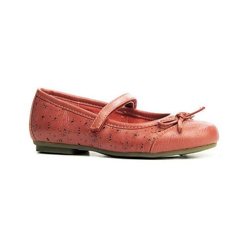 Chaussures Fille Ballerines / babies Flower Girl 144750-B4600 Rojo