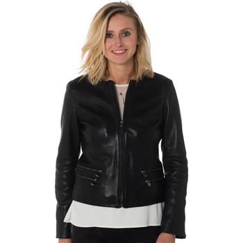 Vêtements Femme Vestes en cuir / synthétiques Cityzen ANDRIA BLACK Noir