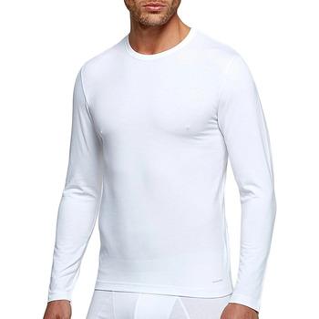 Vêtements Homme T-shirts manches longues Impetus Tricot de peau manches longues blanc régulateur température Blanc