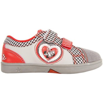 Chaussures Fille Baskets basses Disney Minnie Mouse 2303-635 Gris