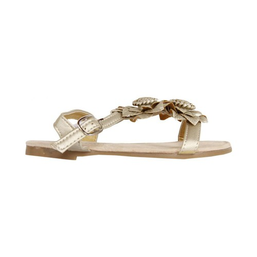 Chaussures Fille Sandales et Nu-pieds Urban UB105903 Gold