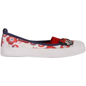 Chaussures Fille Ballerines / babies Minnie Mouse 2303-724 Blanco