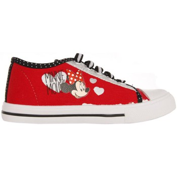 Chaussures Fille Baskets basses Minnie Mouse DM250126-B4253 Rojo