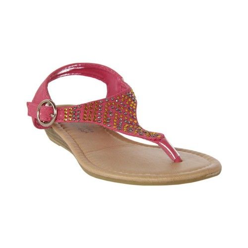 Chaussures Fille Sandales et Nu-pieds Happy Bee B115782-B4600 Rosa