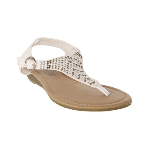 Chaussures Fille Sandales et Nu-pieds Happy Bee B115782-B4600 Blanco