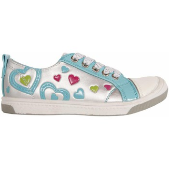 Chaussures Fille Baskets basses Flower Girl 148711-B2040 Plateado