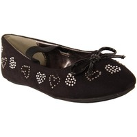 Chaussures Fille Ballerines / babies Flower Girl 195632-B2040 Negro