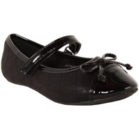 Chaussures Fille Ballerines / babies Flower Girl 212812-B4020 Negro