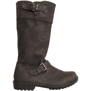 Chaussures Fille Bottes ville Urban 217842-B5300 Negro