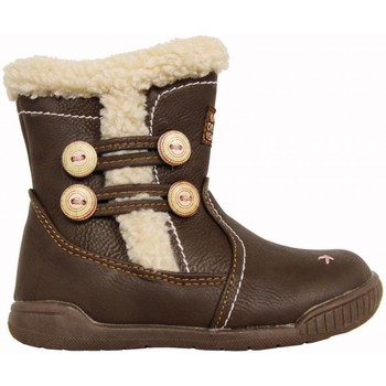 Chaussures Fille Bottes ville Happy Bee B160958-B1392 Marrón