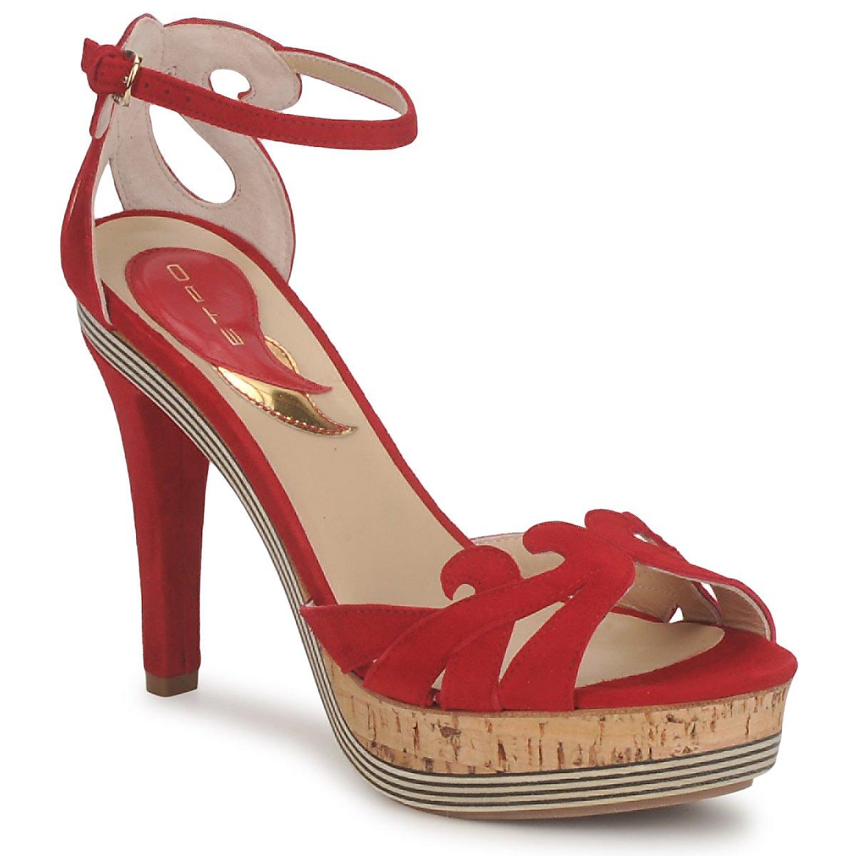 Sandale Etro 3488 Rouge