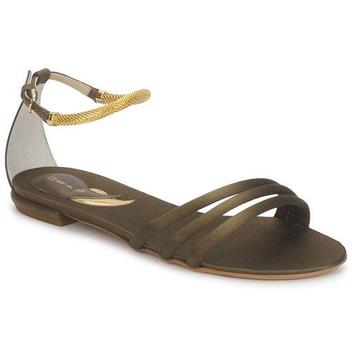 Chaussures Femme Sandales et Nu-pieds Etro 3461 Militaire