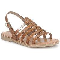 Chaussures Fille Sandales et Nu-pieds Les Tropéziennes par M Belarbi MANGUE Tan