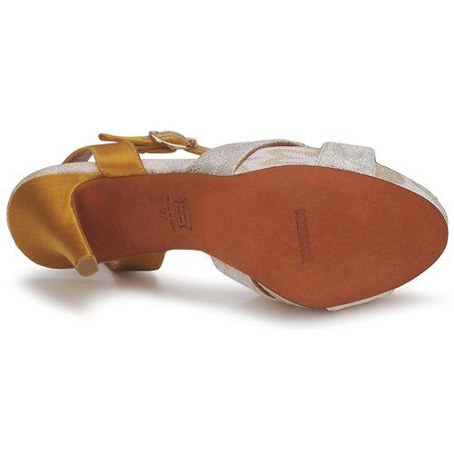 Chaussures Nu Missoni GoldSilver Et pieds Sandales Femme Tm30 GMVLqSzUp