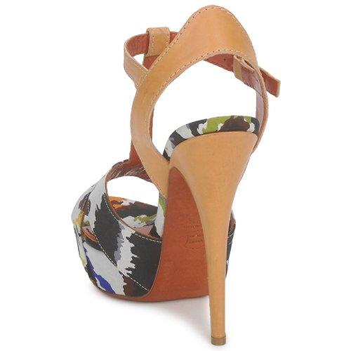 Et Missoni Tm69 pieds Multicolore Chaussures Femme Sandales Nu Wb2D9eEHIY