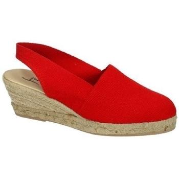 Chaussures Femme Espadrilles Torres  Rouge