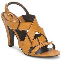 Chaussures Femme Sandales et Nu-pieds Karine Arabian DOLORES Safran-noir