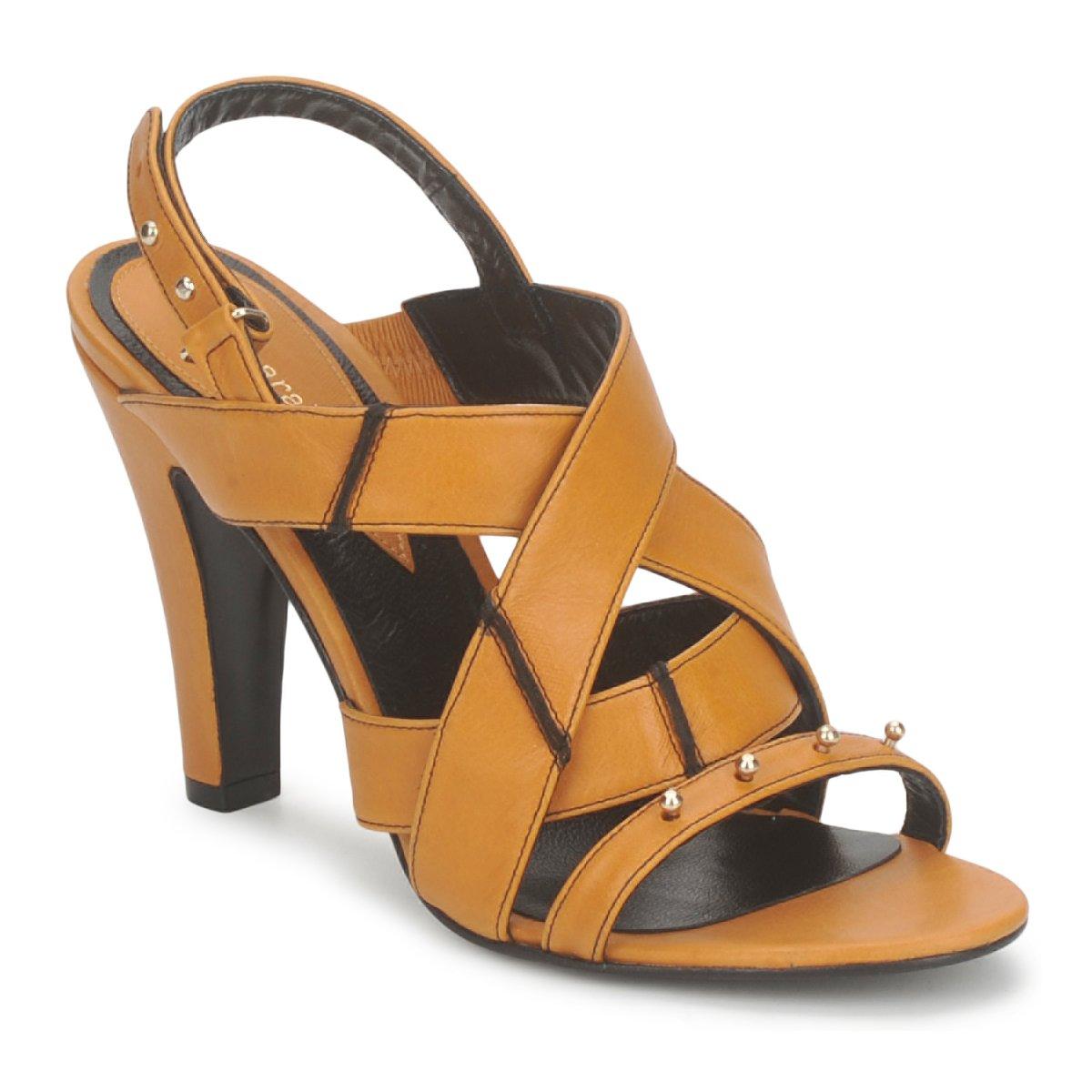 Sandale Karine Arabian DOLORES Safran-noir