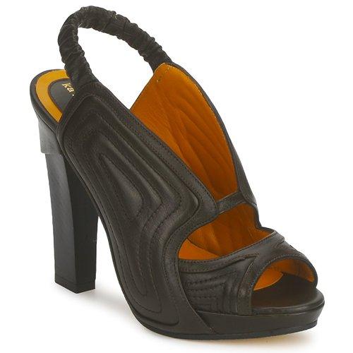 Chaussures Femme Sandales et Nu-pieds Karine Arabian ORPHEE Noir