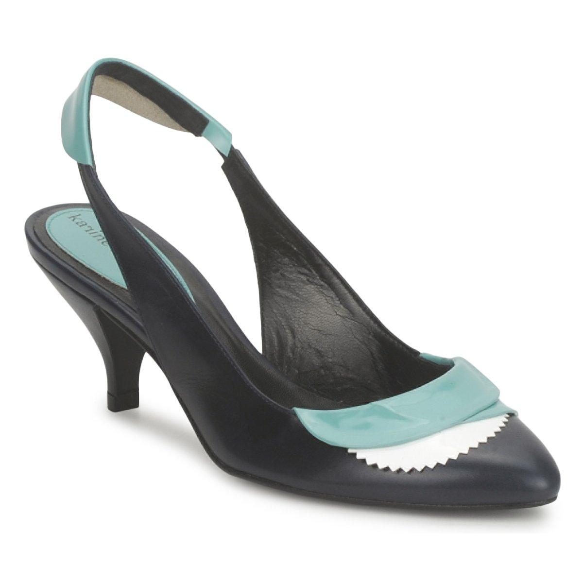 Sandale Karine Arabian LILA Encre / Blanc / Turquoise