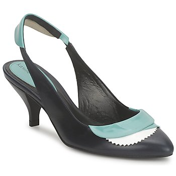 Sandale Karine Arabian LILA Encre / Blanc / Turquoise 350x350