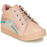 Chaussures Fille Boots André ONDEE Rose