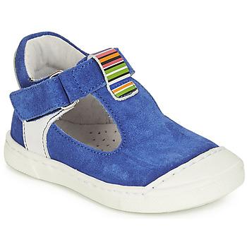 Chaussures Fille Ballerines / babies André BELUGA Bleu