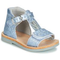 Chaussures Garçon Sandales et Nu-pieds André POESIE Bleu